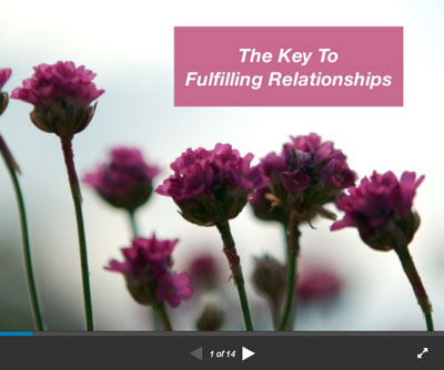 The Key to Fulfilling Relationships, by Michael Mamas